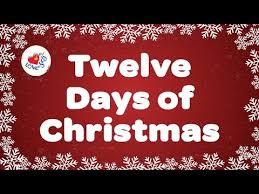 Twelve Days Sponsorship Christmas by Roberta Vigilance